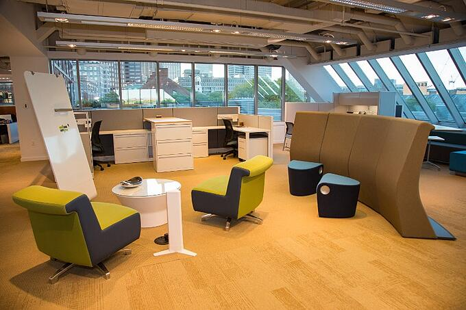 Making the most of your space with dual purpose furniture for Redesign your office