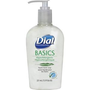 Dial hand soap bottle