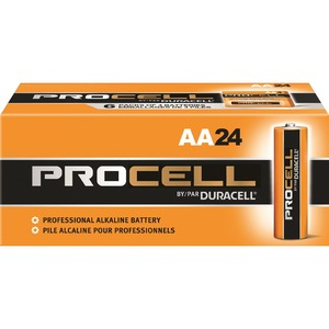 pack of AA Duracell batteries