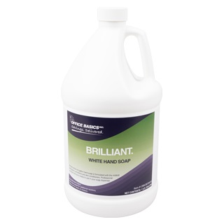 gallon of white hand soap
