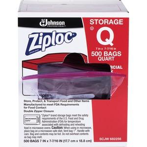 ziploc quart bags
