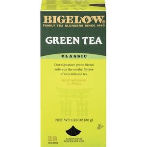 green tea box
