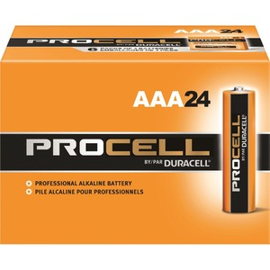 pack of AAA Duracell batteries